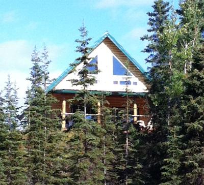 Kenai river cabin rentals waterfront lodging on alaska 39 s for Fishing cabin rentals
